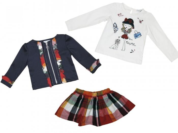 Комплекты детской одежды Baby Rose Комплект для девочки 2107 комплект сцепления на ваз 2107