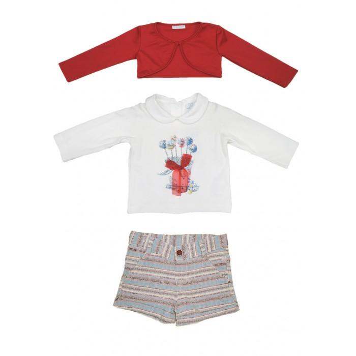Комплекты детской одежды Baby Rose Комплект для девочки 5357 комплект платье болеро ladetto комплект платье болеро