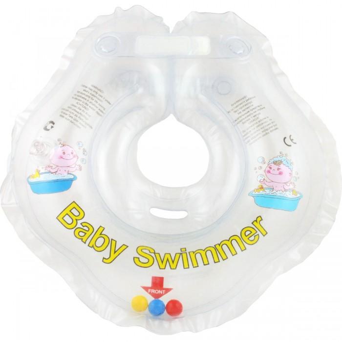 Круги для купания Baby Swimmer погремушка 0-24 мес. roxi kids fl003 круг на шею для купания малышей music