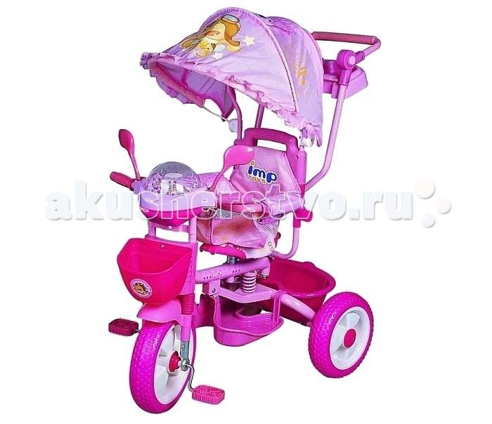 Велосипед трехколесный Baby ТС-2851ТС-2851Велосипед трехколесный Baby ТС-2851 находка для заботливого родителя! Он совмещает в себе как функции коляски, так и первого обучающего транспорта. Имеется специальная управляющая регулируемая ручка колясочного типа, две корзины для того, чтобы вещи первой необходимости находились всегда под рукой, а удобное сидение и пластиковые колеса позволяют безопасно использовать велосипед. Музыкальная панель не даст скучать Вашему крохе. Широкий тент защитит от дождя и солнца. Дуга безопасности, не даст выпасть Вашему малышу.<br>