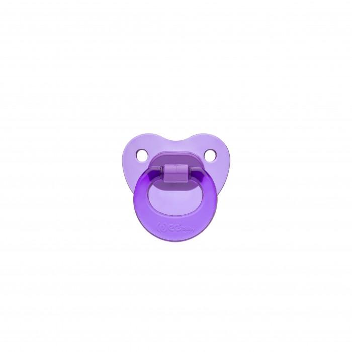 Пустышки WeeBaby ортодонтическая прозрачная №1