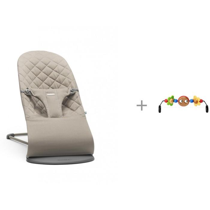 BabyBjorn Кресло-шезлонг Bliss Cotton и Подвеска Balance для кресла-качалки от BabyBjorn