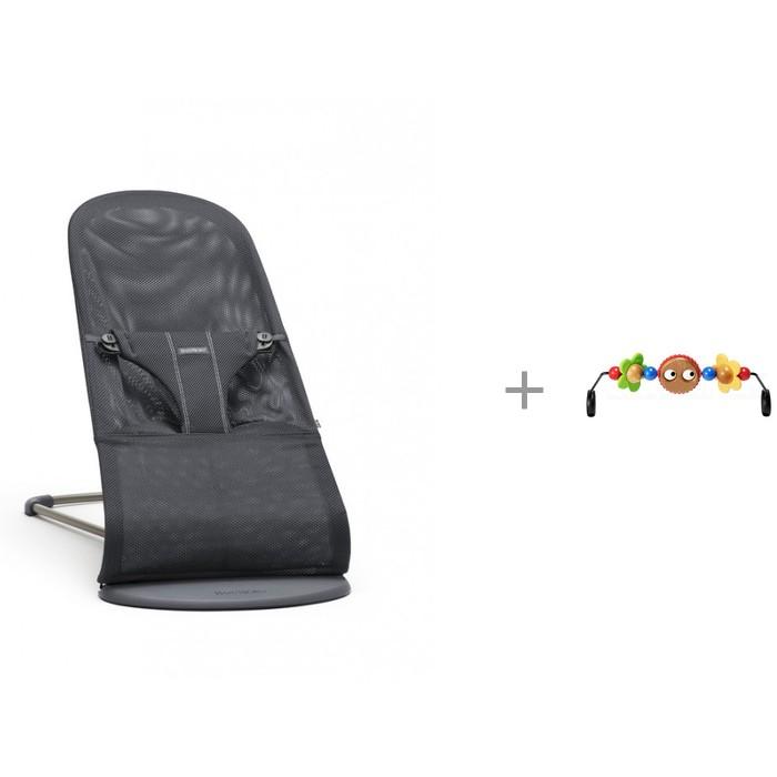 BabyBjorn Кресло-шезлонг Bliss Mesh и Подвеска Balance для кресла-качалки от BabyBjorn