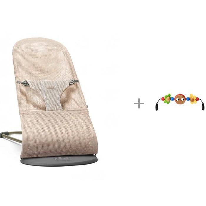 цена на Кресла-качалки, шезлонги BabyBjorn Кресло-шезлонг Bliss Mesh и Подвеска Balance для кресла-качалки