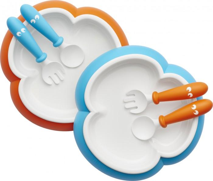 BabyBjorn Комплект (2 тарелки, 2 ложки, 2 вилки)