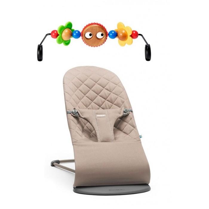 BabyBjorn Кресло-шезлонг Balance Bliss с игрушкой для кресла-качалки фото