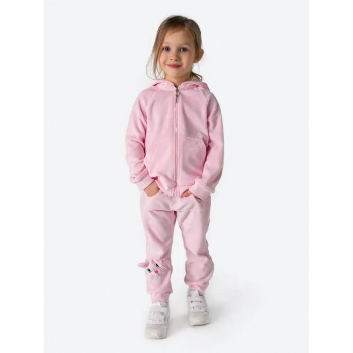 BabyBunny Костюм детский велюровый (брюки, толстовка) Кошечка