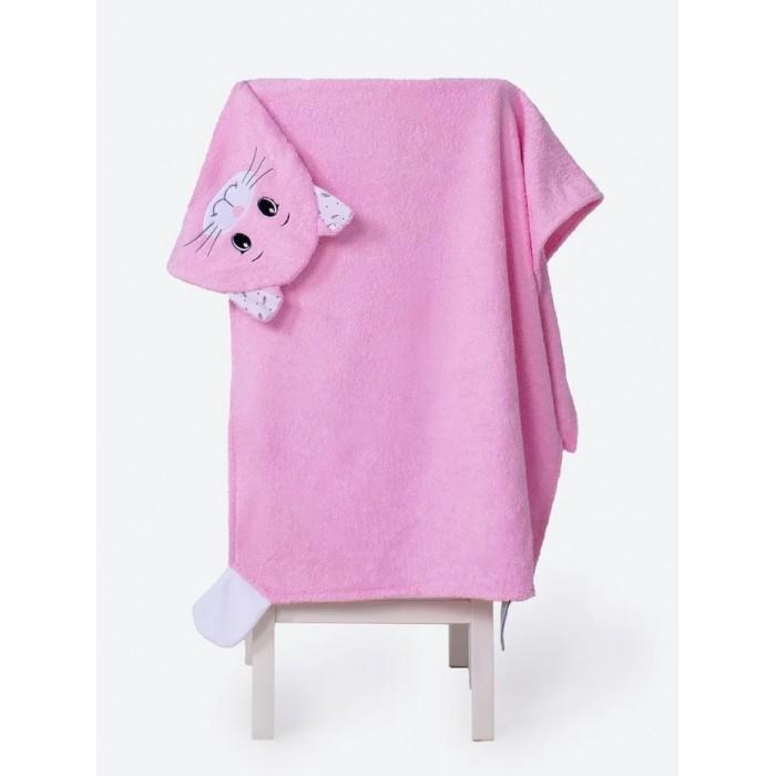 Полотенца BabyBunny Полотенце с капюшоном Кошечка М 125х65