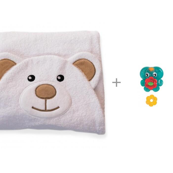 BabyBunny Полотенце с капюшоном Мишка и игрушка для ванны Playgro Фонтанчик от BabyBunny