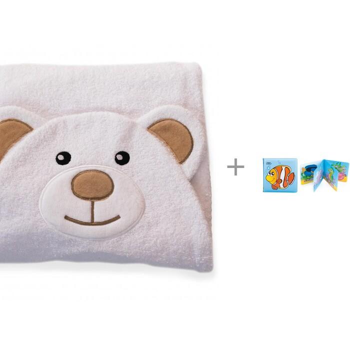 Полотенца BabyBunny Полотенце с капюшоном Мишка и мягкая книжка Canpol 2/083