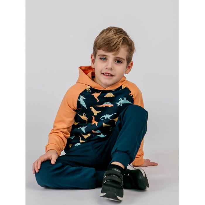 толстовки и свитшоты aruna худи для детей тигр Толстовки и свитшоты Babycollection Худи Динозавры