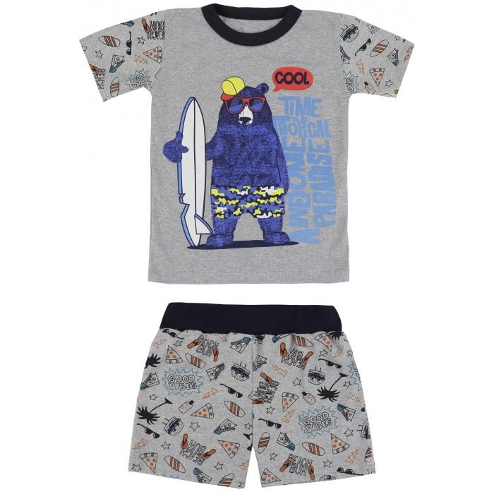 Комплекты детской одежды Babycollection Комплект для мальчика Медведь-серфингист