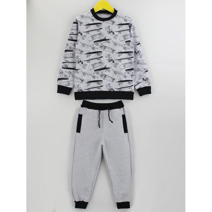 Комплекты детской одежды Babycollection Костюм для мальчика (свитшот, брюки) Скейтер
