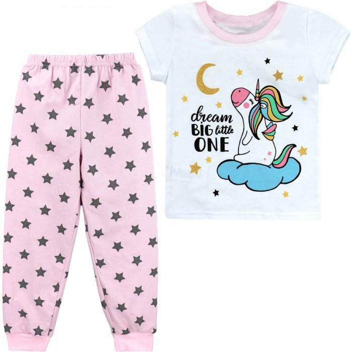 Домашняя одежда Babycollection Пижама для девочки (футболка и брюки) Мечта