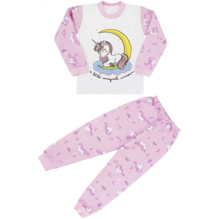 Babycollection Пижама для девочки Сонный единорог Pgm01
