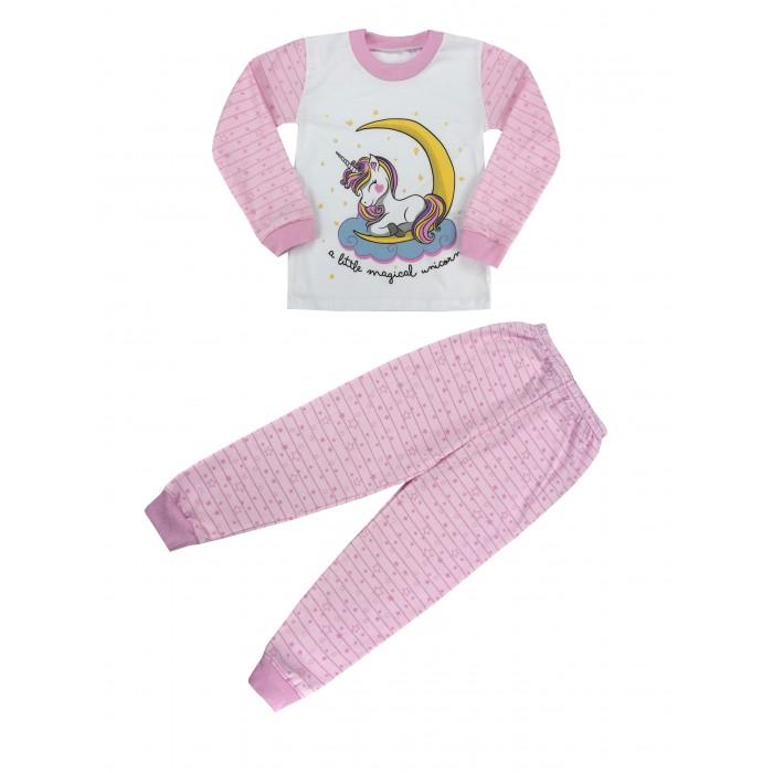 Babycollection Пижама для девочки Сонный единорог