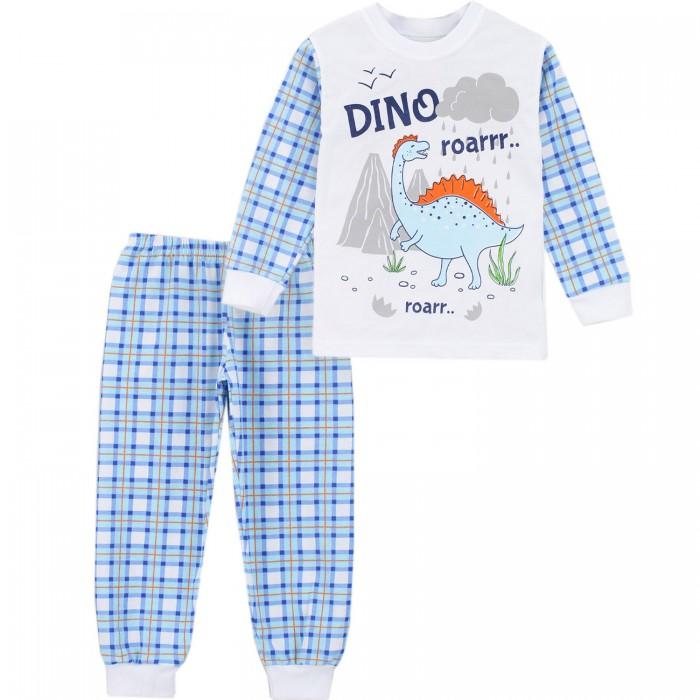 Домашняя одежда Babycollection Пижама для мальчика (свитшот, брюки) Динозавр