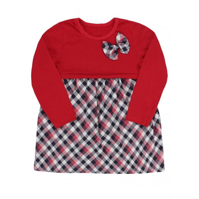 Babycollection Платье для девочки в клеточку