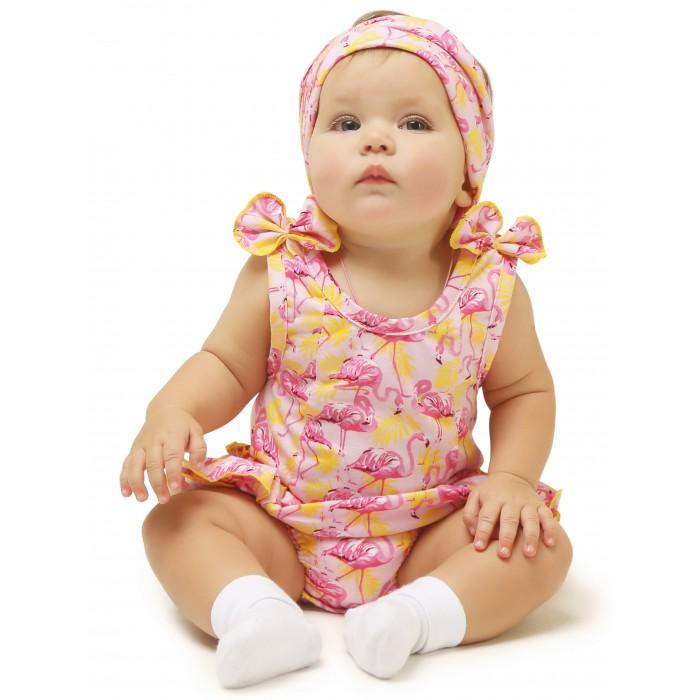 Фото - Боди, песочники, комбинезоны Babyglory Боди-песочник для девочки Summer Time STF001 боди песочники комбинезоны carrot песочник дино в масках