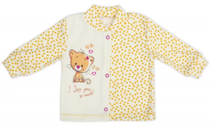 Распашонки и кофточки Babyglory Кофточка для девочки Карамелька KM004 кофточка apart кофточка