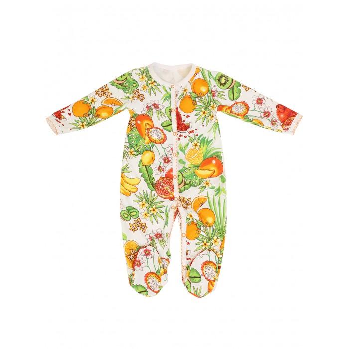 Babyglory Комбинезон для девочки Тутти-Фрутти