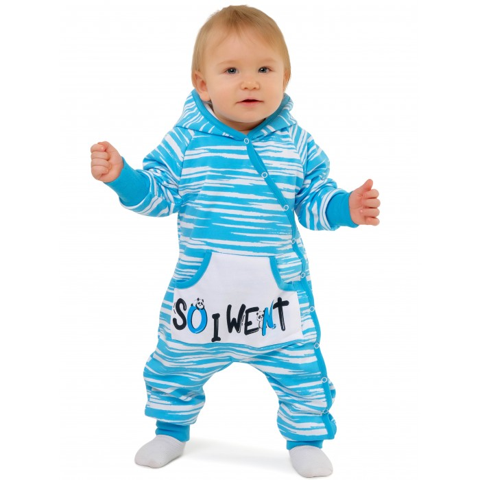 Babyglory Комбинезон с капюшоном Panda Cool