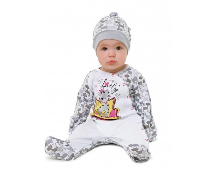 Babyglory Комбинезон швы наружу Kitty Lovely