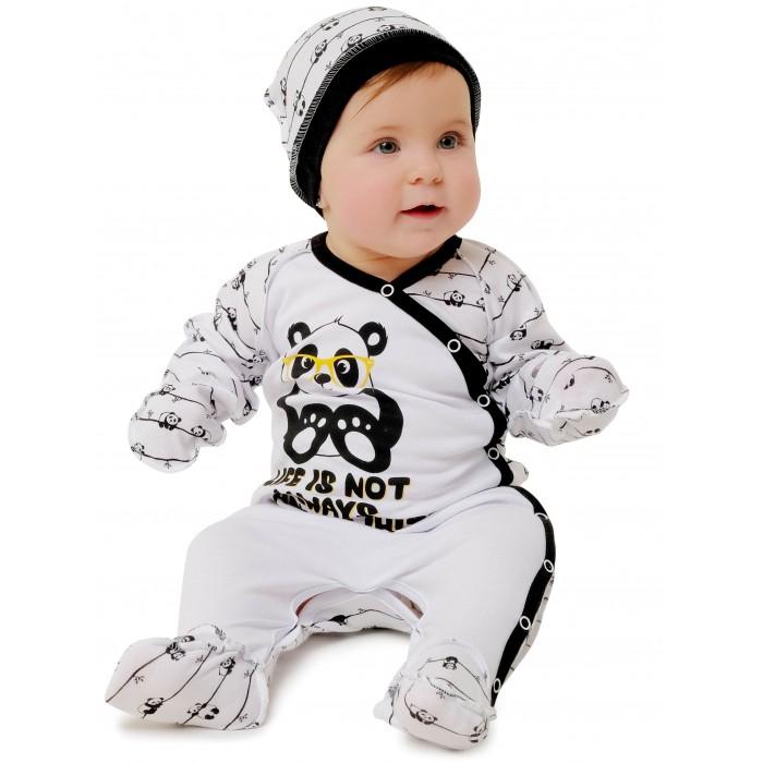 Babyglory Комбинезон швы наружу Panda
