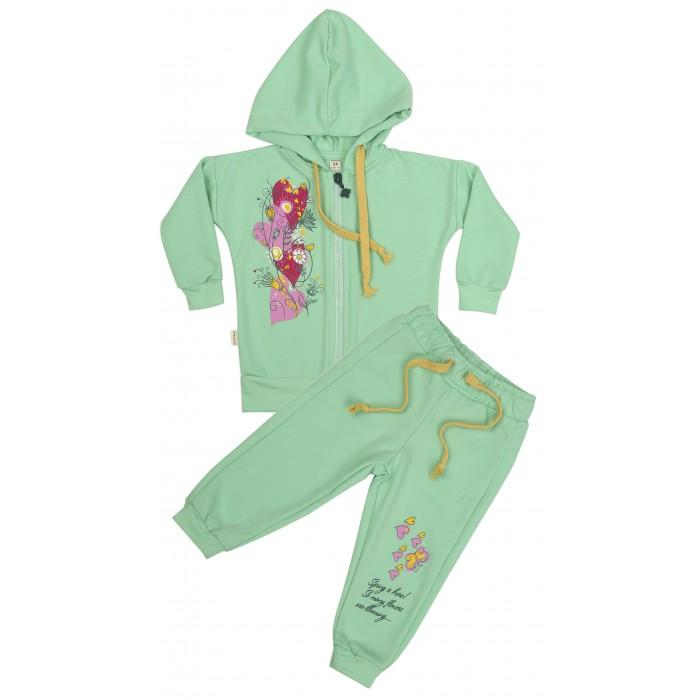 Спортивные костюмы Babyglory Комплект для девочки Spring Forest