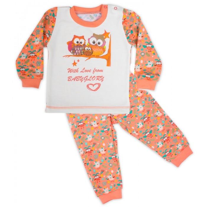 Пижамы и ночные сорочки Babyglory Костюм для девочки (кофточка и штанишки) Сказка