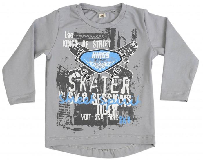Водолазки и лонгсливы Babyglory Лонгслив для мальчика Skateboarder