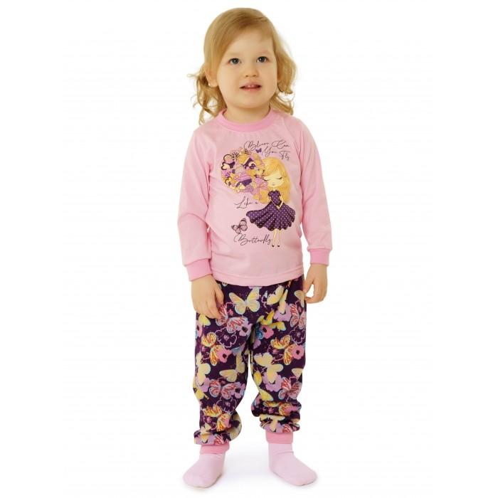 Babyglory Пижама для девочки Конфетти