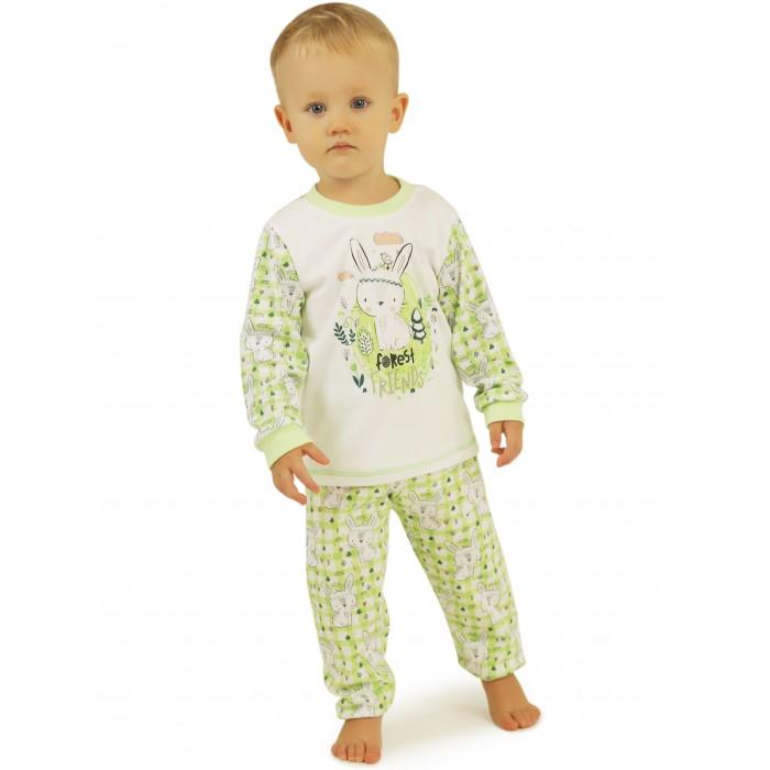 Babyglory Пижама Клеточка-Зая KL005