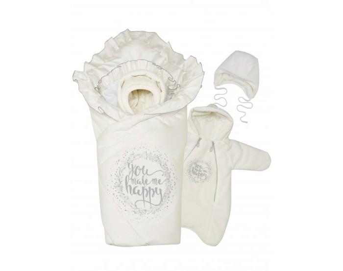Комплект на выписку Babyglory Счастье зима (4 предмета) Счастье зима (4 предмета)