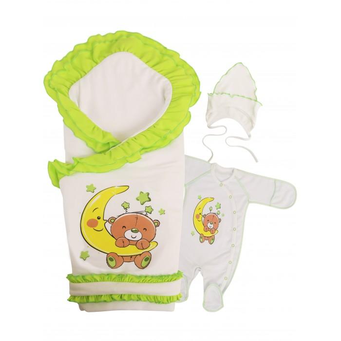 Комплект на выписку Babyglory Соня лето (4 предмета) Соня лето (4 предмета)
