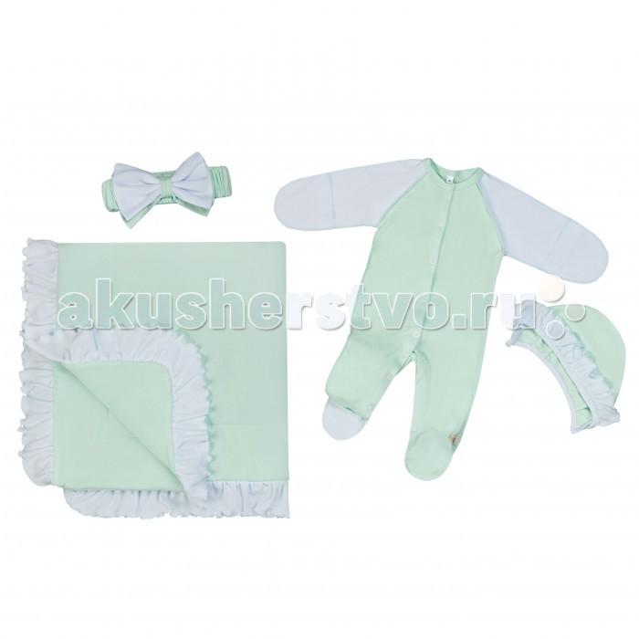 Детская одежда , Комплекты детской одежды Babygold Комплект 4 предмета арт: 359169 -  Комплекты детской одежды