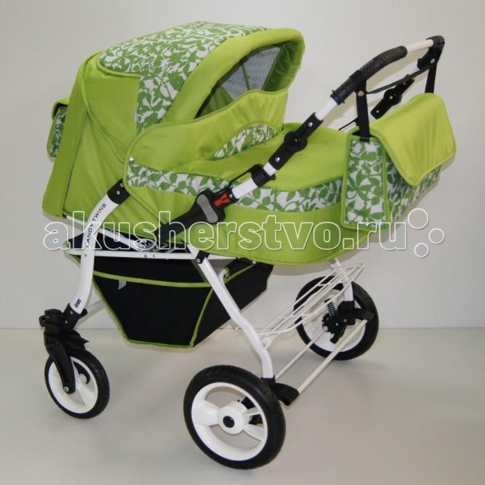 Детские коляски , Коляски для двойни и погодок BabyHit Коляска-трансформер для двойни Lendy Twin арт: 435704 -  Коляски для двойни и погодок