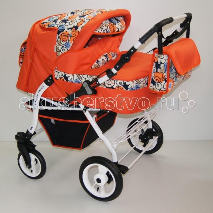 Коляски для двойни и погодок BabyHit Коляска-трансформер для двойни Lendy Twin прогулочные коляски babyhit drive