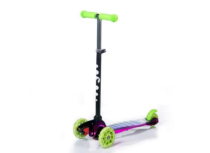 Детский транспорт , Трехколесные самокаты BabyHit Mini арт: 538596 -  Трехколесные самокаты