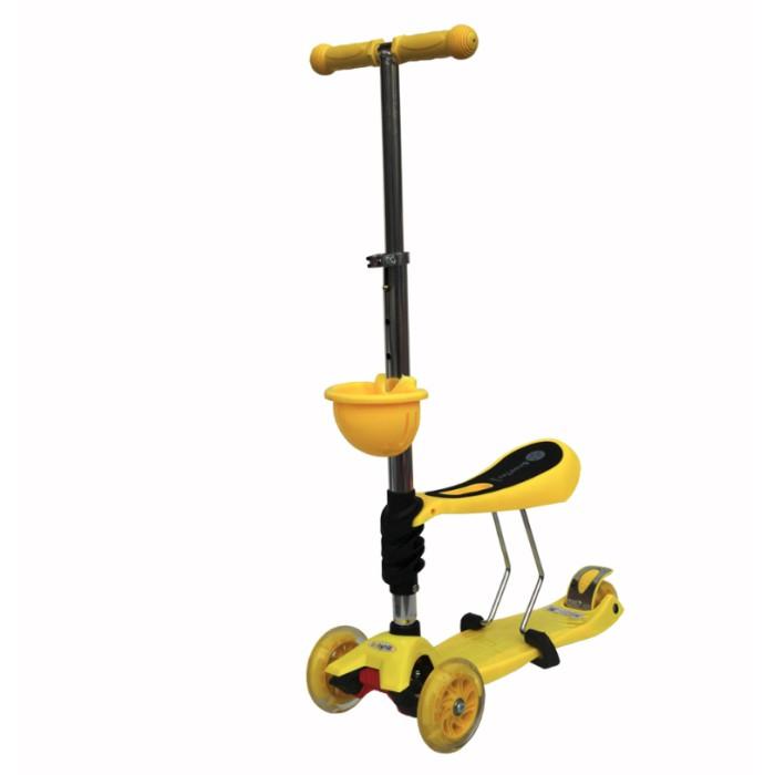Трехколесный самокат BabyHit ScooterOK Tolocar