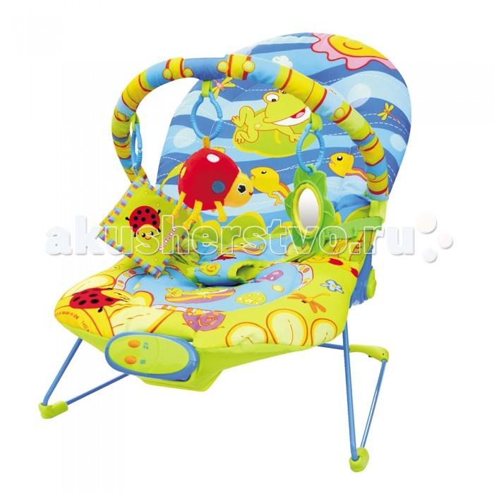 BabyHit Шезлонг BRШезлонг BRBabyHit Шезлонг BR  Особенности: Предназначен для детей от рождения до 6 месяцев Экологически чистые материалы и краски Виброрежим Звуковые эффекты Дуга с навесными игрушками<br>