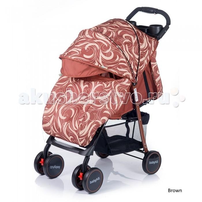 Прогулочная коляска BabyHit SimpySimpyПрогулочная коляска BabyHit Simpy - удобная, мобильная модель предназначенная для городских прогулок и путешествий.  Новинка 2017 года!  Вес коляски менее шести кг. плюс облегченная система складывания позволяют переносить и складывать ее одной рукой. Вытягивающийся капюшон в купе с пологом обеспечивают надежную защиту от непогоды. Спереди установлены сдвоенные колеса вращающиеся на 360 гр. с фиксацией направления. Для максимальной плавности хода все колеса снабжены амортизацией.   Особенности:   Легкая прогулочная коляска.  Сдвоенные передние колеса с функцией фиксации в положении «прямо»  Складывание одной рукой  Капюшон «батискаф»  3 положения наклона спинки (сидя, полулежа, лежа)  Регулируемая подножка  Съемный поручень с паховым ремнем  3-х точечная система ремней безопасности  Столик с подстаканниками и бардачком на ручке  Вместительная багажная корзина  Амортизация на всех колесах    В комплекте:   полог,   москитная сетка    Размеры:   - спальное место: 68х32 см (ДхШ) - ширина сиденья: 32 см - длина сиденья:  20 см - высота спинки:  39 см - высота до ручки: 101 см<br>