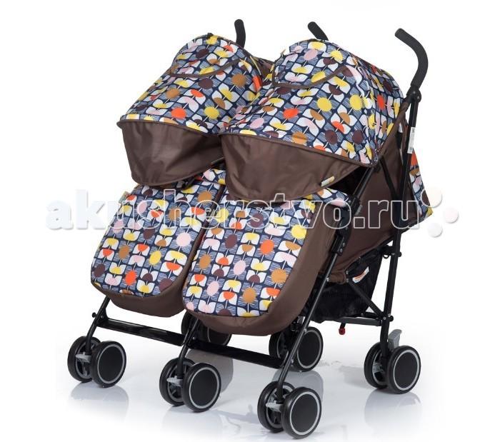 BabyHit TwiceyTwiceyКоляска для двойни Baby Hit Twicey это легкая и удобная новинка 2017 года для близнецов, которые уже сидят самостоятельно.   Двухместная коляска-трость – мобильное решение проблемы прогулок и поездок с двумя малышами в теплое время года. Интересные расцветки, основанные на контрастном сочетании однотонной и узорчатой тканей, будут радовать вас не один сезон.  Особенности:  Сдвоенные передние поворотные колеса с фиксацией в положении «прямо»  Капюшон «батискаф»  Съемный поручень с паховыми ремнями  Система амортизации на всех колесах  Регулируемые до положения «лежа» спинки  Регулируемые подножки  5-ти точечная система ремней безопасности  Багажная корзина  Смотровое окно в капюшоне  В комплекте:  полог  москитная сетка Размер и вес:  Размеры в разложенном виде (ДхШхВ): 77 х 80 х 100 см   Размеры в сложенном виде(ДхШхВ): 97 х 55 х 36 см  Размер спального места(ДхШ): 69 х 32 см  Ширина сиденья: 32 см  Длина сиденья:  19 см  Высота спинки:  42 см  Высота до ручки: 100 см  Диаметр колес: 13.5 см Вес: 9.2 кг<br>