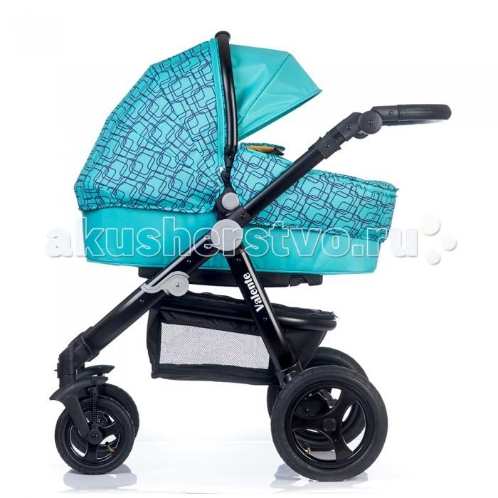 Коляска BabyHit Valente 2 в 1Valente 2 в 1Коляска BabyHit Valente 2 в 1 отличается рамой современного дизайна, маневренностью, предназначена для детей с рождения и до 3-х лет.   Особенности: Надувные колеса Передние поворотные колеса с фиксацией в положении «прямо» Легкая люлька (3 кг) с удобной ручкой для переноски Амортизация на всех колесах Большая багажная корзина Регулируемая ручка Съемный поручень с паховым ремнем у прогулочного сиденья Регулируемая по положения «лежа» спинка прогулочного сиденья Капюшон «батискаф» прогулочного сиденья  Характеристики: Размер спального места сиденья: 79 х 33 см                          Размер спального места люльки: 76 х 34 см  Ширина сиденья: 34 см Длина сиденья:  23 см Высота спинки:  40 см Высота до ручки: 80 - 104 см Вес с сиденьем: 14.1 кг             Вес с люлькой: 13.1 кг  В комплекте: Полог для сиденья,  полог для люльки,  дождевик,  москитная сетка,  сумка,  два матрасика,  насос.<br>