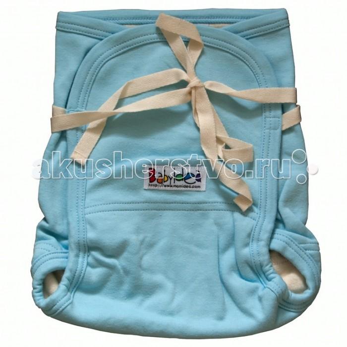 Babyidea Трикотажный подгузник Hemp Hour Strap Soft до 3 лет (2 шт.)