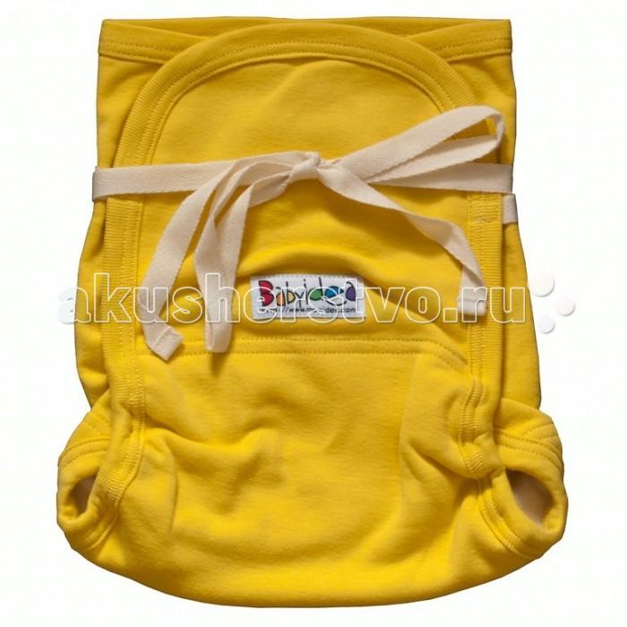 Гигиена и здоровье , Многоразовые подгузники и трусики Babyidea Трикотажный подгузник Hemp Hour Strap Soft до 3 лет (2 шт.) арт: 47756 -  Многоразовые подгузники и трусики