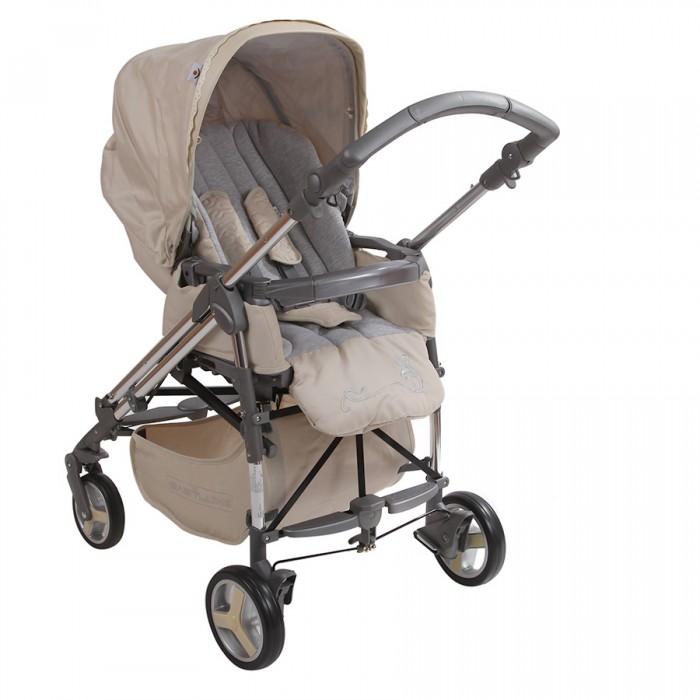 Прогулочная коляска Babylux CaritaCaritaПрогулочная коляска Babylux Carita. Многофункциональная модель для детей до 3-х лет очень маневренная, надежная и комфортная. Она сделана из качественных и продуманных материалов.   Стильный дизайн и красивая, модная расцветка. Компактный и простой механизм складывания - книжка. Сиденье устанавливается в двух положениях относительно движения (Reverse). У него высокие и мягкие бортики. Ребенка можно пристегнуть пятиточечными ремнями безопасности с мягкими накладками. Бампер пластиковый. Его можно снимать.  Особенности: Ручки можно регулировать по высоте, при помощи несложного механизма Колеса одинарные, небольшие. На каждом есть амортизация Передние колеса поворачиваются на 360 градусов, а на задних есть тормоза Металлическая рама очень прочная Под сиденьем есть вместительная корзина Удобная подставка для ног. Ее можно мыть Подножка регулируется и устанавливается в двух положениях Два положения спинки коляски, включая горизонтальное, позволит придать удобное положение малышу Капюшон очень большой. Хорошо закрывает от солнца Вес: 14.5 кг.<br>
