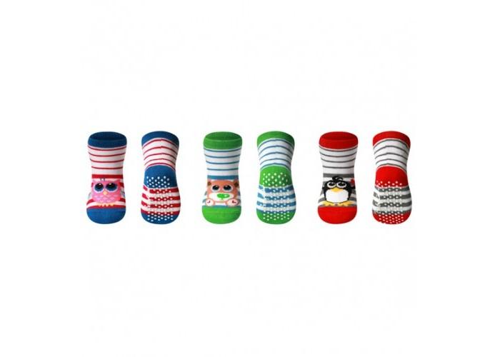 Колготки, носки, гетры BabyOno Носки из хлопка антискользящие (1 пара) колготки носки гетры babyono носки из хлопка антискользящие smile 0 1 пара