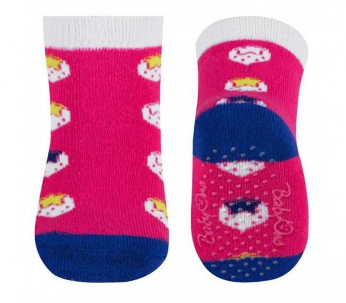 Колготки, носки, гетры BabyOno Носки махровые противоскользящие (1 пара) 582-03 igrobeauty махровые носки для парафинотерапии персик 1 пара