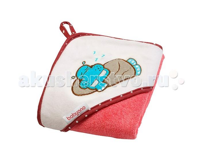 Купание малыша , Полотенца BabyOno Полотенце Hippo 100Х100 см арт: 451004 -  Полотенца